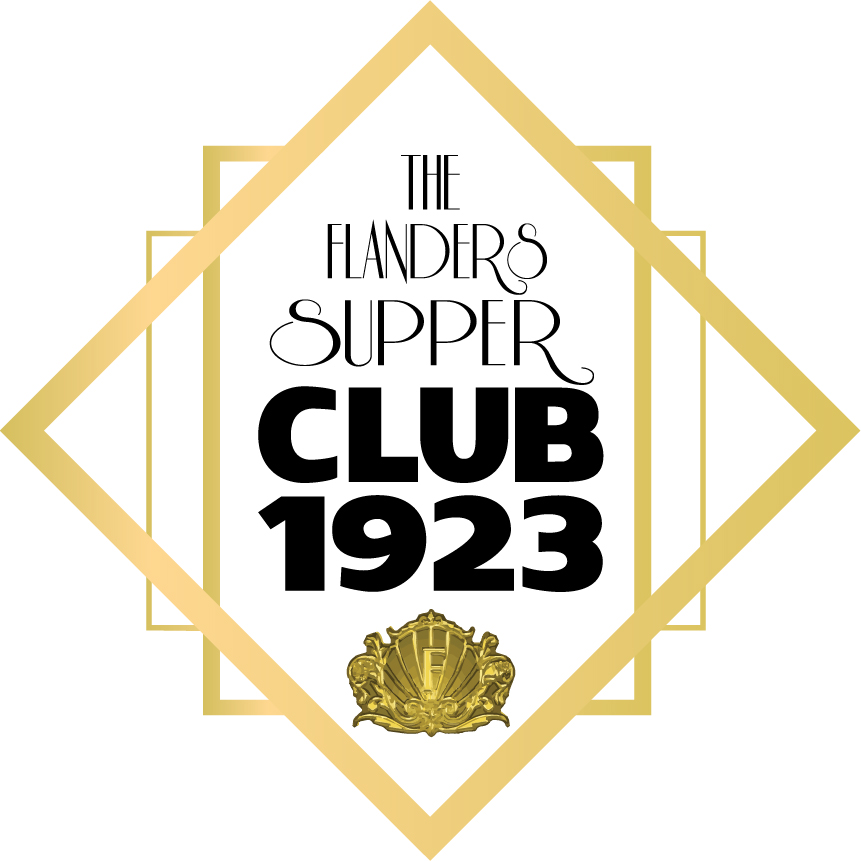 The Flanders Supper Club Gold Logo